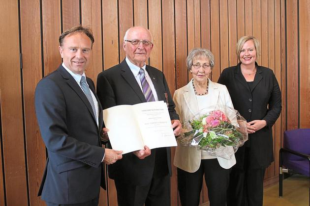 KKV-Mitglied Johann Sundag erhält Bundesverdienstkreuz